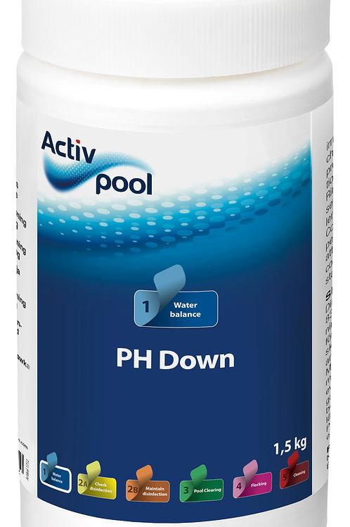 ActivPool PH Down 1,5 kg eller 7,5 kg