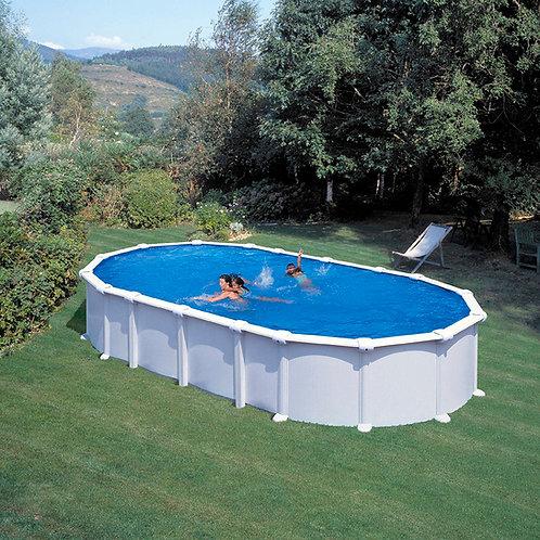 Pool white steel 730x375x132