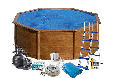 Pool Basic Wood Imitation Ø4,60x1,20M