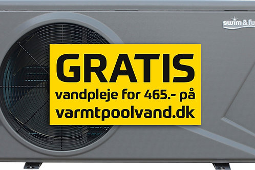 Heat Pump Inverter Pro 12 kW 30-60m3 Wifi kontrol