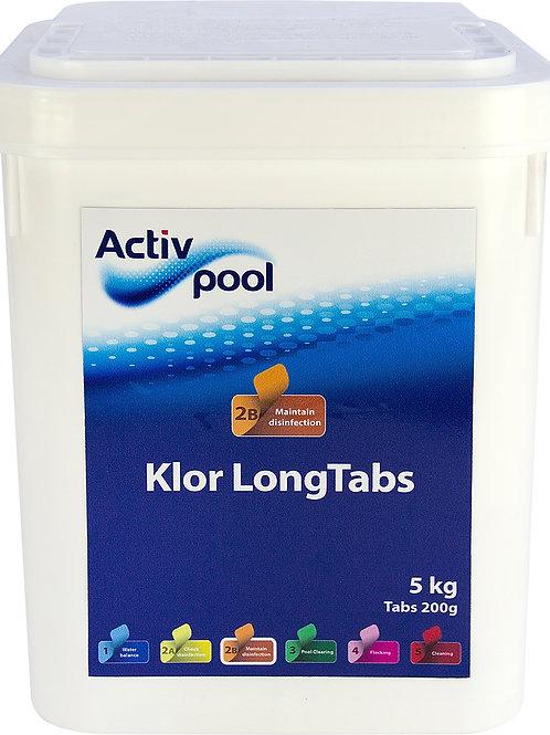 ActivPool Klor LongTabs 200G 5 kg