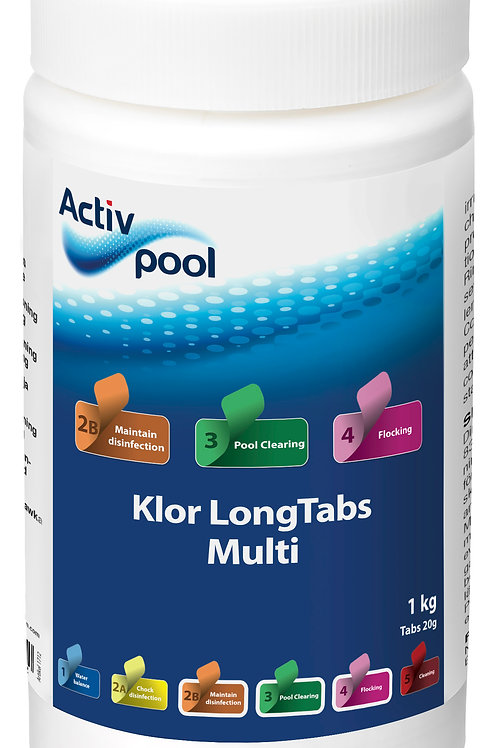 ActivPool Klor LongTabs Multi 20G 1 kg