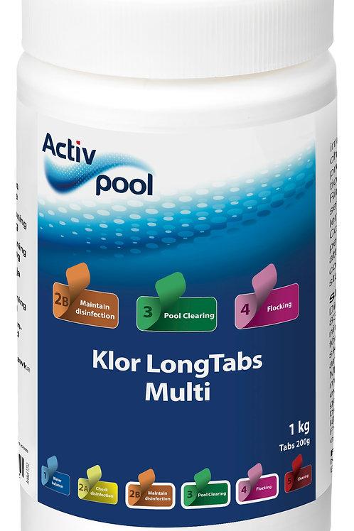 ActivPool Klor LongTabs Multi 200G 1 kg