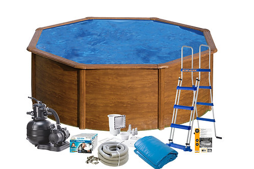 Pool  Basic Wood Imitation Ø3,50x1,20M