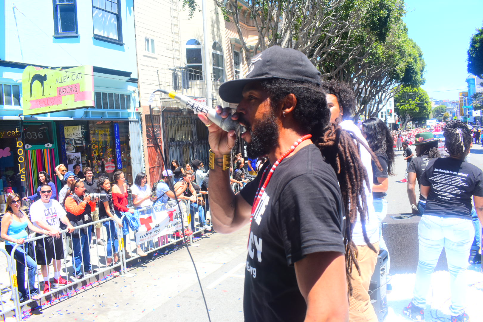 Khafre Jay at Carnival Sf