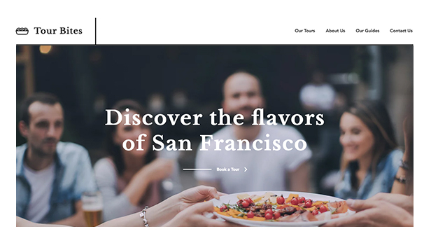 Restaurants & Food website templates – Food Tours