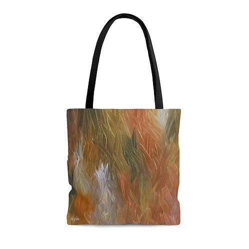 AOP Tote Bag - A Hint of Blue