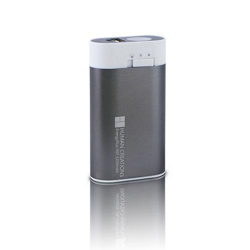 EnergyFlux HEF 5200mAh  Rechargeable Hand Warmer / External Battery & Flashlight