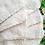Thumbnail: White Napkins w/Scalloped Edge & Embroidered w/Bow (set of eight)