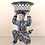 Thumbnail: Blue & White Porcelain Samurai w/Basket