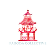 Pagoda Collective Logo | Find curated antiques, chinoiserie design, home design decor, elegant curios, interior design