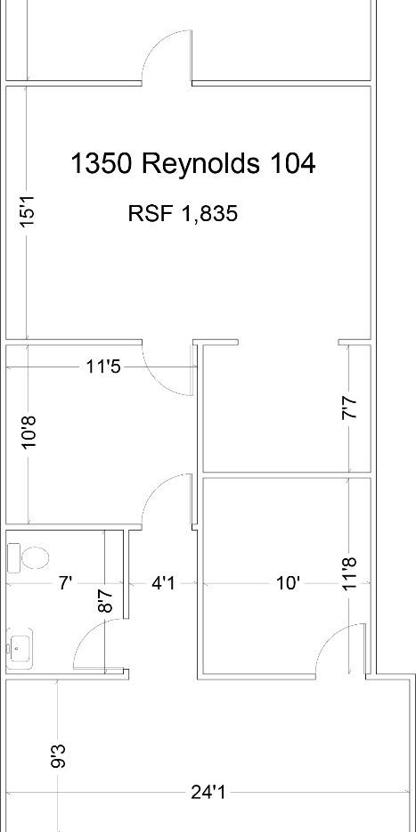 1350 Reynolds Suite 104