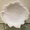 Thumbnail: Milk Glass Leaf Plate