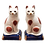 Thumbnail: Fitz & Floyd Staffordshire Cat Salt & Pepper Shakers