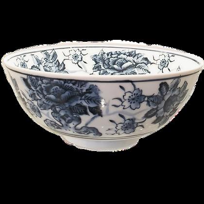 Blue & White Floral Bowl