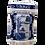 Thumbnail: Blue & White Tea Caddy w/Lid