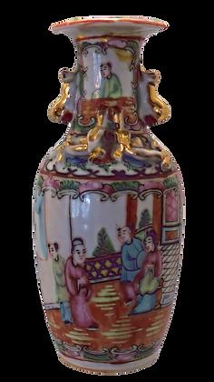 Rose Medallion Small Vase