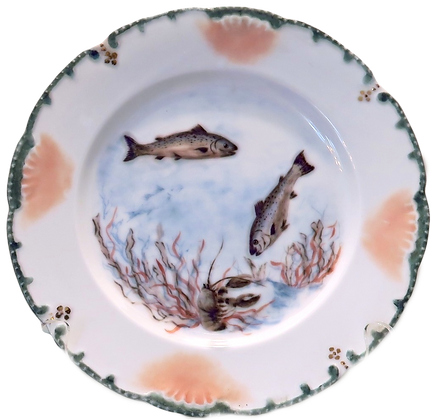 Lura Reyer Fish Plate (set of two)