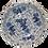 Thumbnail: Blue & White Dragon Dog Bowl