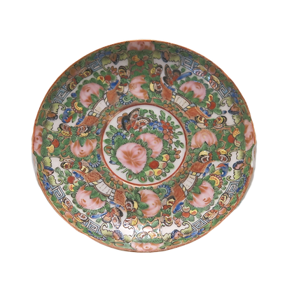 Rose Medallion Small Catch-All Dish