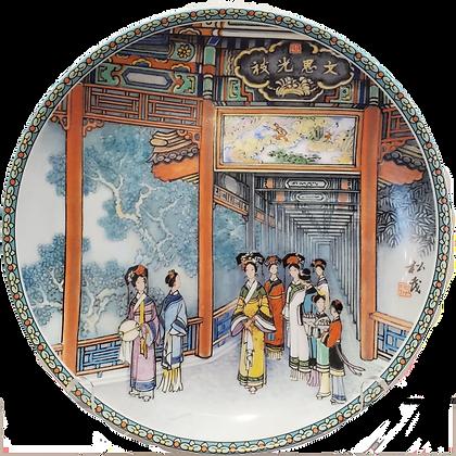 Imperial Jingdezhen Porcelain Summer Palace Tour Plates (set of six)