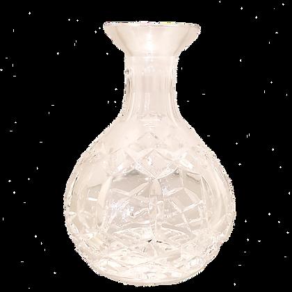 Cut Crystal Bud Vase