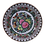 Thumbnail: Rose Medallion Plate w/Two Painted Rose Buds