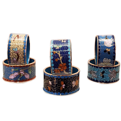 Cloisonne Napkin Ring (set of six)