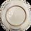 Thumbnail: Blue & White Peony Plate w/Sakura Blossom