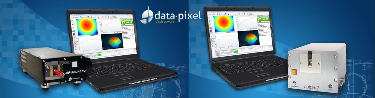 Data-Pixel Interferometers