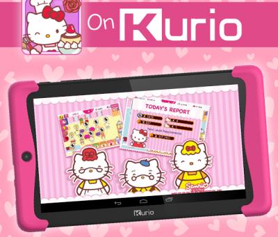 Hello Kitty Cafe available on KurioTabletUSA's Xtreme 2!