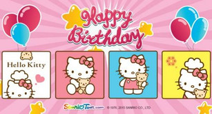 Tons of fun, surprises, and giveaways on Hello Kitty's 41st birthday!