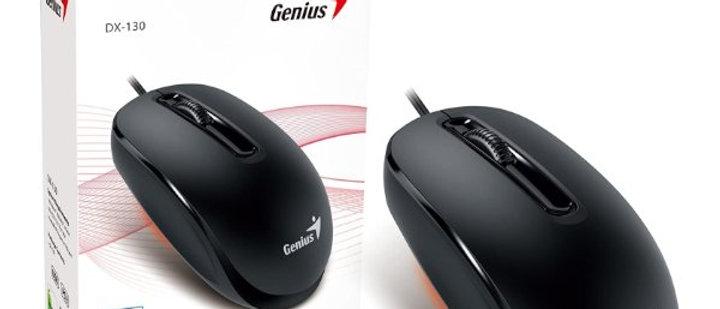 עכבר חוטי 3 כפתורים וגלילה Genius DX-130 Black