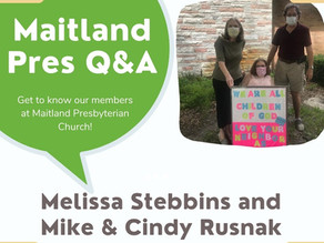 Maitland Pres Q & A: Melissa Stebbins and Mike & Cindy Rusnak