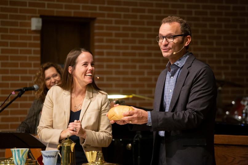 Co Pastors Dave and Megan Collins