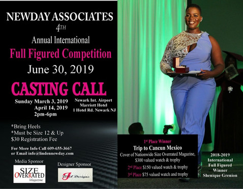 Who Will Reign as the Next Newday Associates International Full Figured Model of the Year?