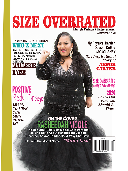 Size Overrrated Winter 2020 Issue