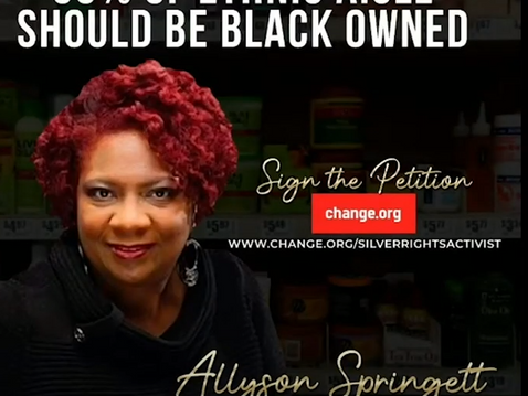 (BPRW) BOSS UP campaign on track to return the Black hair care industry BACK TO THE BLACK community,