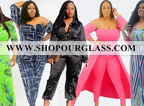 """Celebrity Stylist """"Shatava Lindsey"""" debuts her latest plus-size boutique specialties at FFFWeek."""