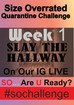 SO Quarantine Challenge....Week 1: Slay The Hallway Challenge