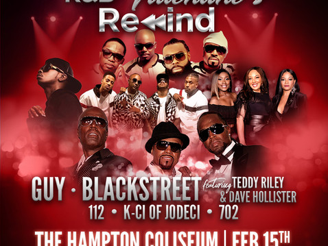 Special Valentines Day Throwback Concert at the Hampton Coliseum