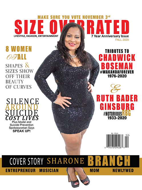 Size Overrated 7 Year Anniversary Issue