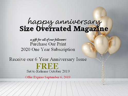 Buy One Year 2020 Subscription Get Our 6 Year Anniversary Issue FREE