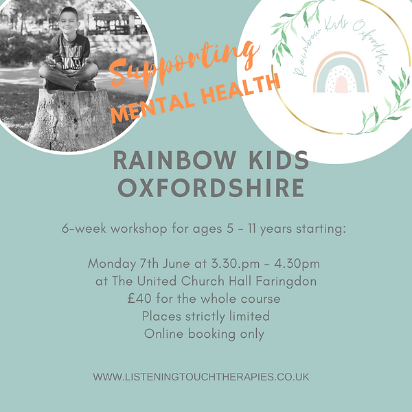 Copy of Join me for outdoor rainbow kids