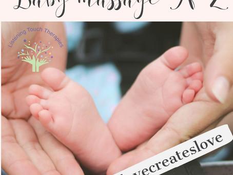 Baby massage A-Z (O-U)