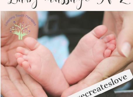 Baby massage A-Z (V-Z)