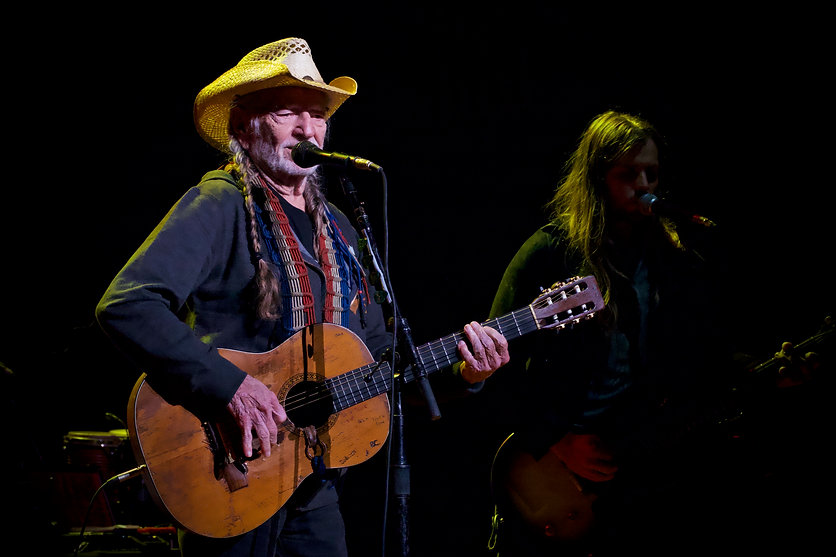 Willie Nelson2- Saratoga, NY September 2