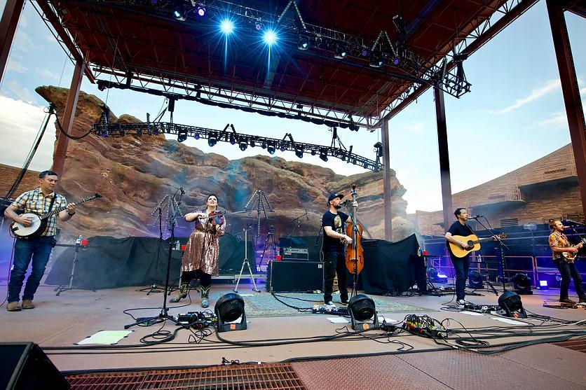 Yonder Mountain String Band1- Red Rocks,