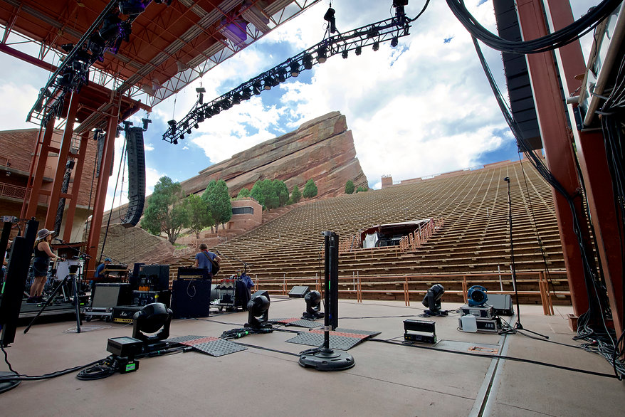 John Butler Trio1- Sound Check- Red Rock