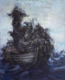 """""""Petite barque"""", 100 x 81 cm"""